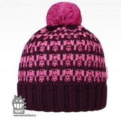 Čepice pletená albi - vzor 05