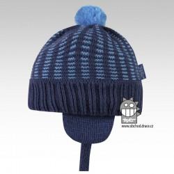 Pletená čepice Mikeš - vzor 05