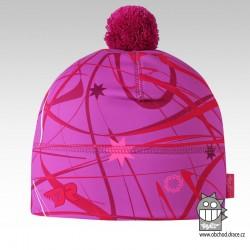 Flavio - zimní funkční čepice - vzor 100