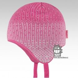 Laponka pletená kojenecká - vzor 02
