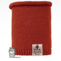 nákrčník pletený Colors - vzor 10